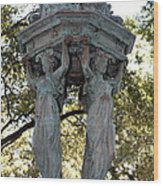 Pillars Of New Orleans Wood Print