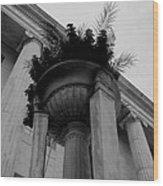 Pillars Upon Pillars Wood Print