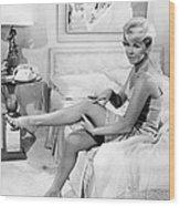 Pillow Talk, Doris Day, 1959 Wood Print
