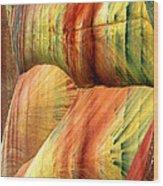 Pillowing Wood Print