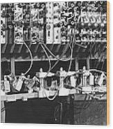 Pilot Ace Computer Components, 1950 Wood Print by Science Photo Library
