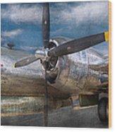 Pilot - Plane - The B-29 Superfortress Wood Print