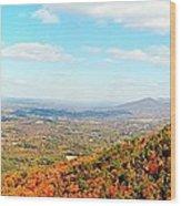 Pilot Valley Wood Print