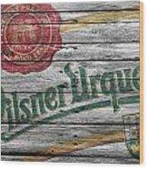 Pilsner Urquell Wood Print