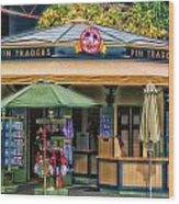 Pin Traders Downtown Disneyland 02 Wood Print