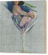 Pin Up, 1914 Wood Print