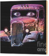 Pin Up Cars - #3 Wood Print