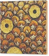 Pina Colada Wood Print