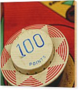 Pinball Machine Wood Print