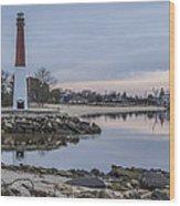 Pine Beach Wood Print