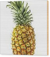 Pineapple Wood Print by Blink Images