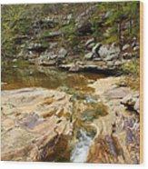 Piney Creek In Southern Illinois Wood Print