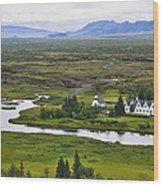 Pingvellir National Park Wood Print