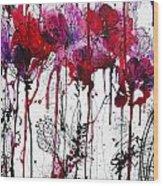 Pink 2 Wood Print