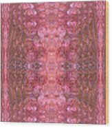 Pink Bubbles Wood Print