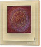 Pink Color Sand Wood Print