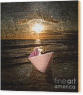 Pink Dreams Wood Print by Stelios Kleanthous