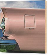 Pink Fins Wood Print by Bill Cannon