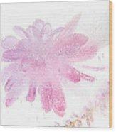 Pink Float Wood Print