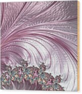 Pink Froth A Fractal Abstract Wood Print