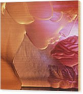 Pink Lady Wood Print by Etti PALITZ