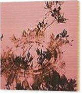 Pink Level Wood Print