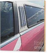 Pink Limousine Wood Print