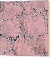 Pink Marble Wood Print