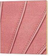 Pink Moleskin Wood Print