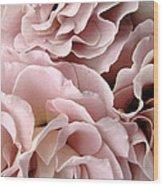 Pink Petal Profusion Wood Print