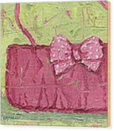 Pink Purse Party Wood Print