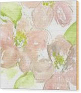 Pink Quince Wood Print