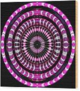 Pink Rings Wood Print