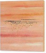 Pink Tears Wood Print