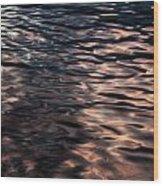 Pink Water 01 Wood Print