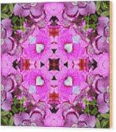 Pinks- Oh My Wood Print