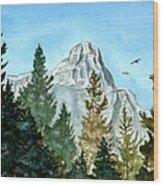 Pinnacle Wood Print