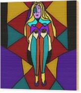 Pinnacle Of Womanhood Wood Print