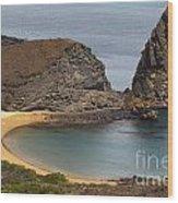Pinnacle Rock Galapagos Wood Print
