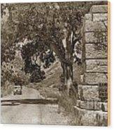 Pinnacles National Monument California Circa 1946 Wood Print