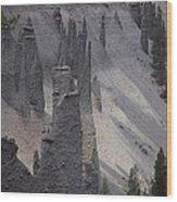 Pinnacles Valley Wood Print