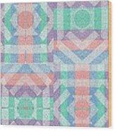 Pinwheel Dreams 0-5 Wood Print