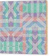 Pinwheel Dreams 0-7 Wood Print