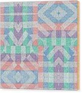 Pinwheel Dreams 0-9 Wood Print