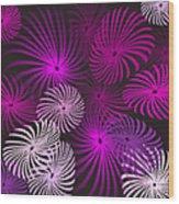 Pinwheel Fun Wood Print