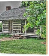 Pioneer Cabin 21 Wood Print