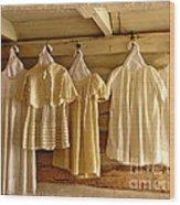 Pioneer Days-child's Dresses Wood Print