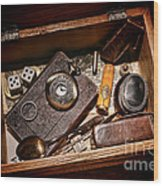 Pioneer Keepsake Box Wood Print
