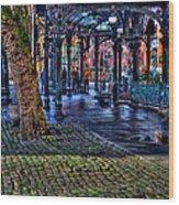 Pioneer Square In Seattle Wood Print