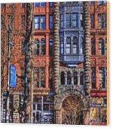 Pioneer Square No.1 Wood Print